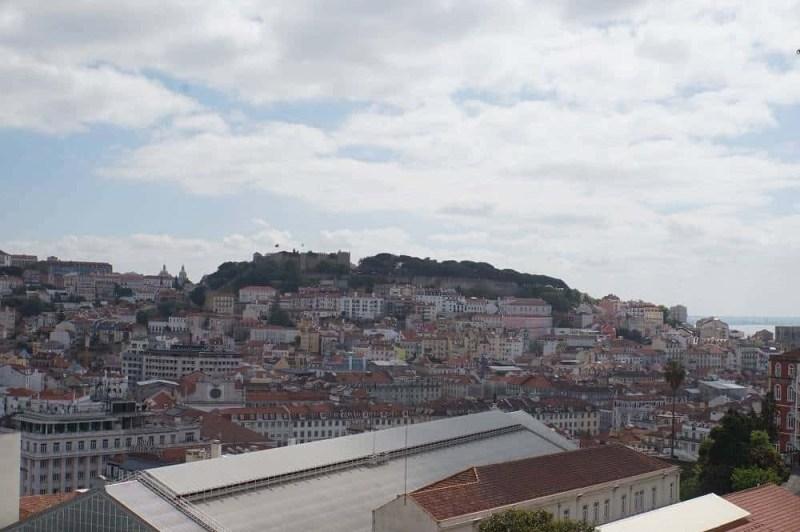 View from Miradouro de São Pedro de Alcântara