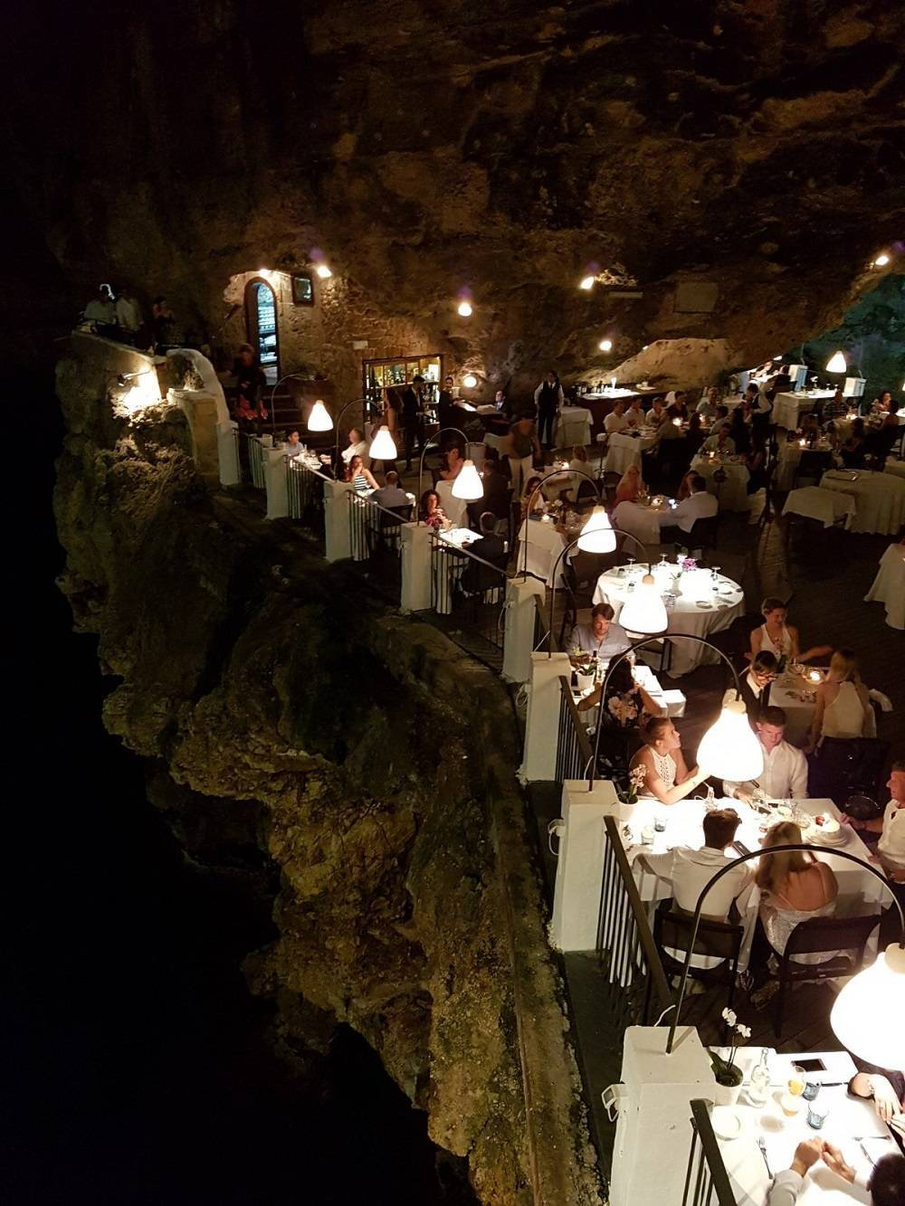Grotta Palazzese in Polignano a Mare