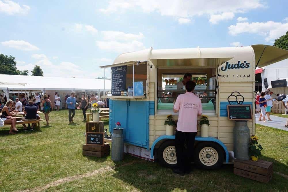 Jude's ice-cream van