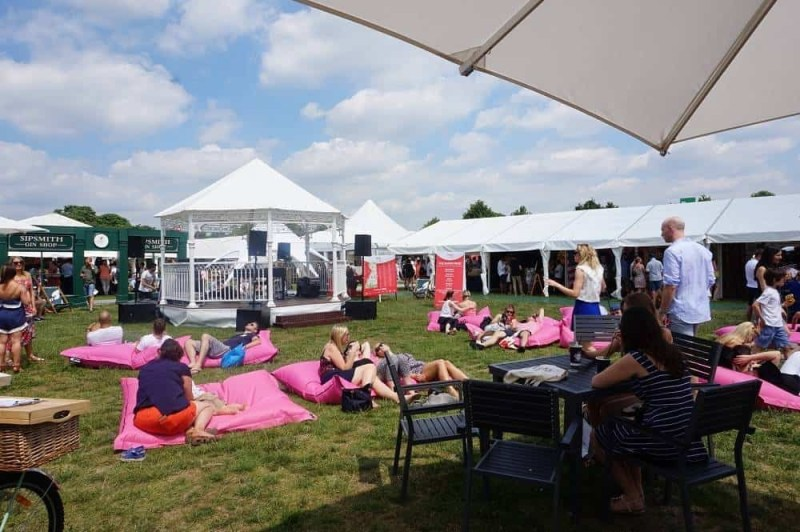 Taste of London bean bags