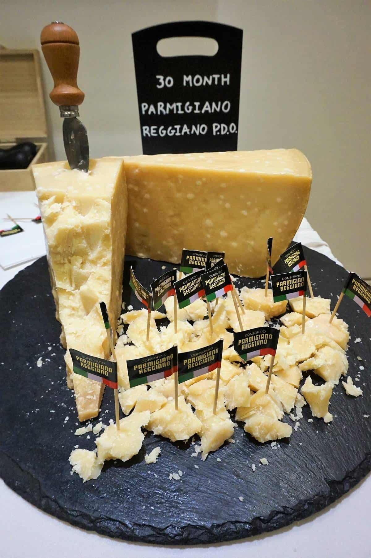 Chunk of parmigiano reggiano