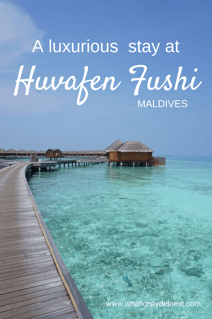 A luxurious 5 star stay at Huvafen Fushi in the Maldives
