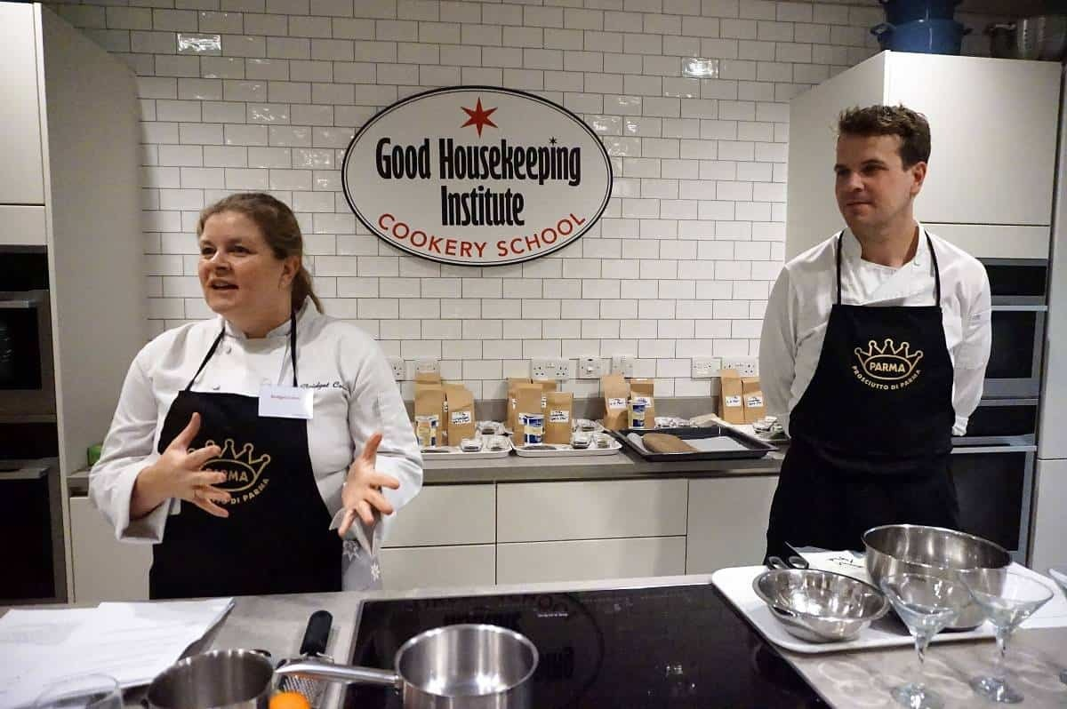 Chef Bridget and Chef Chris