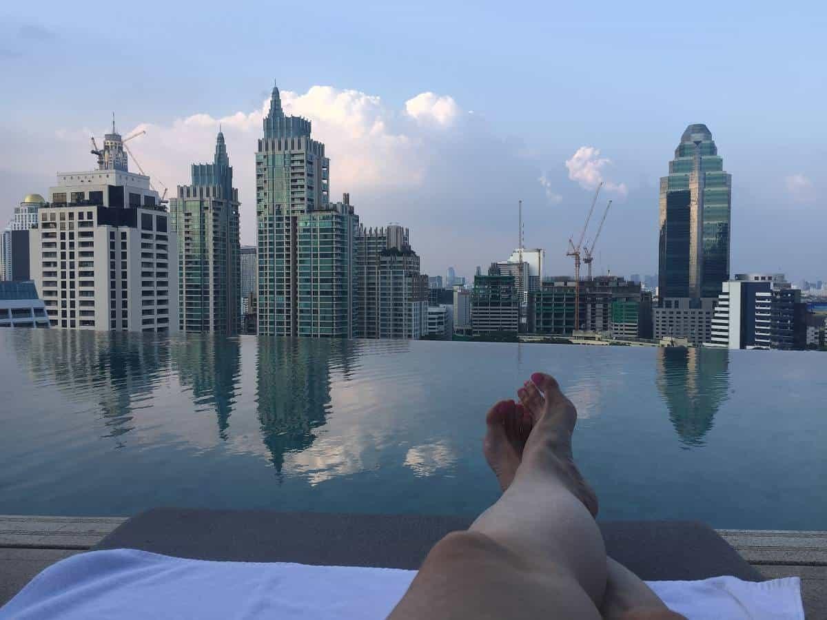 Park Hyatt Bangkok roof pool