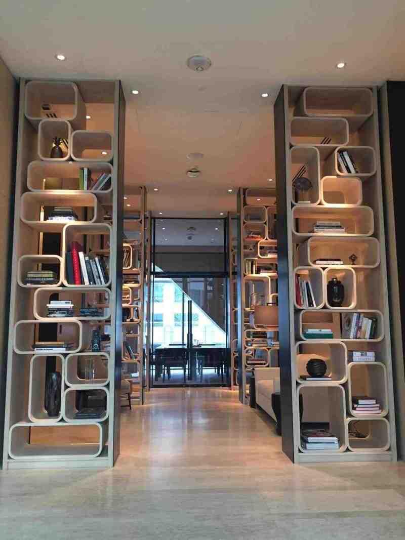 The library room in Park Hyatt Bangkok