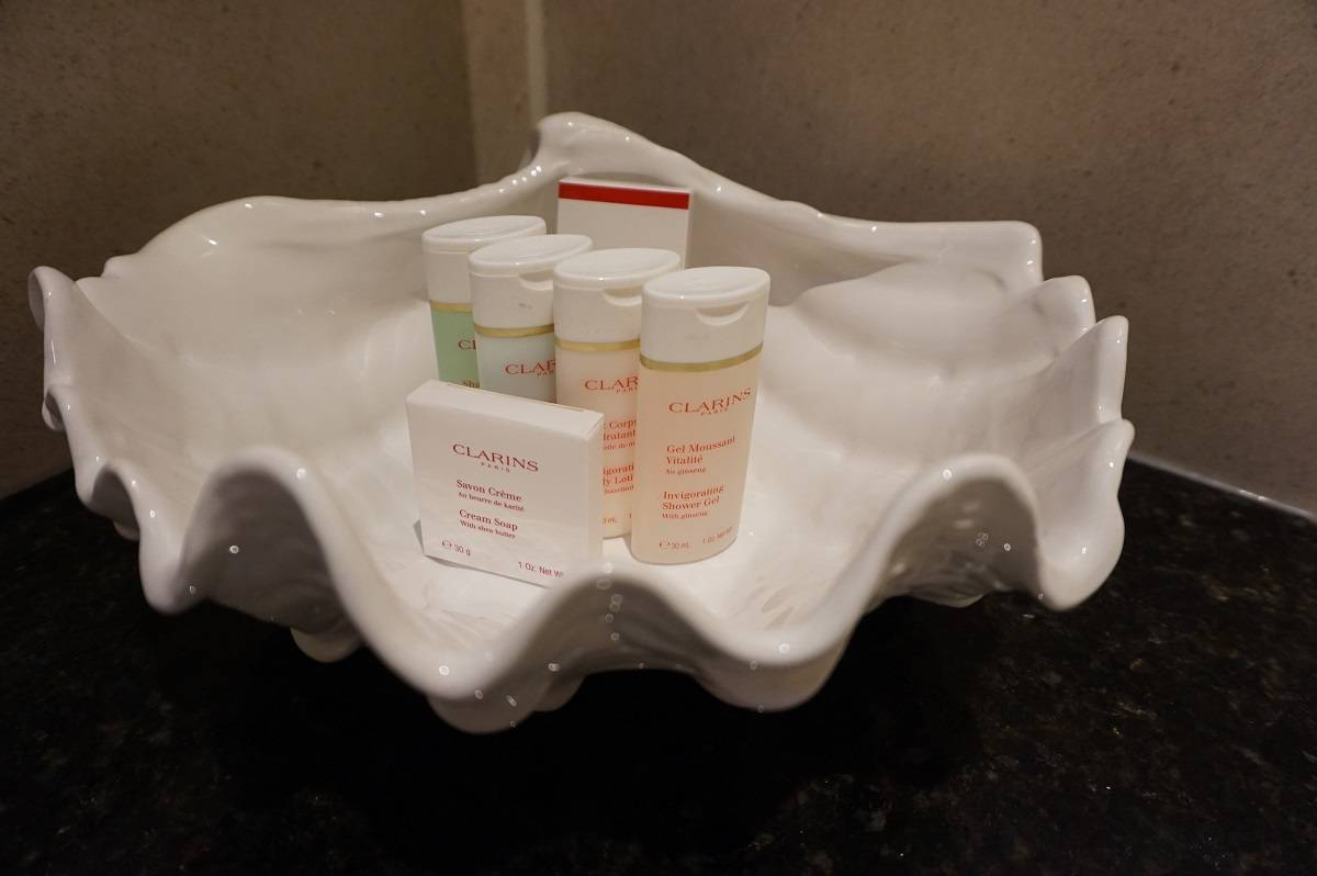 Clarins products at Grays Court hotel
