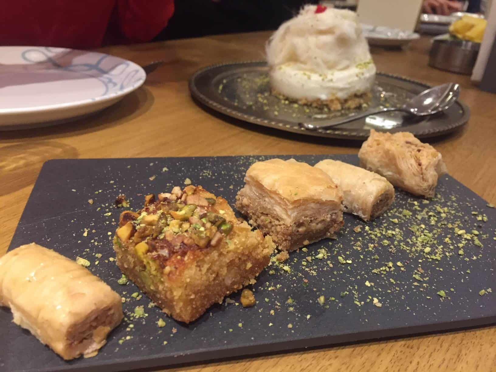 Desserts from Abd el Wahab