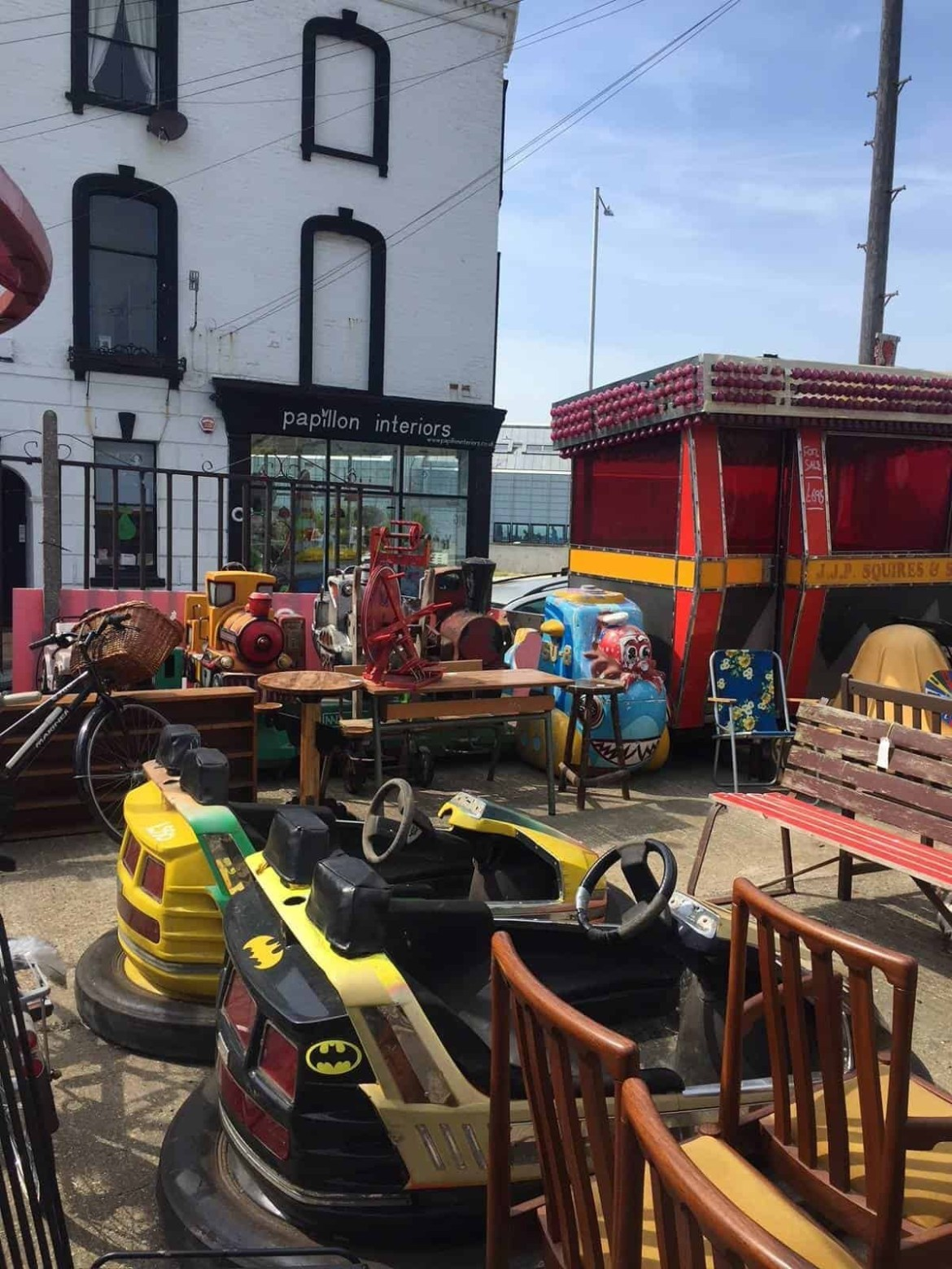 Margate retro junk yard