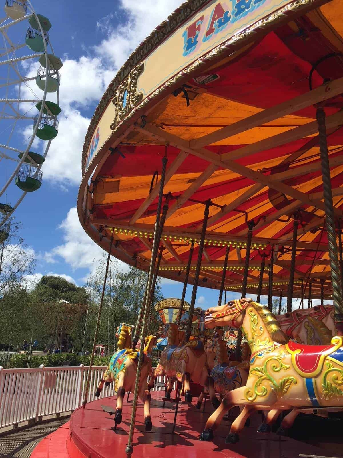 The Gallopers at Dreamland in Margate