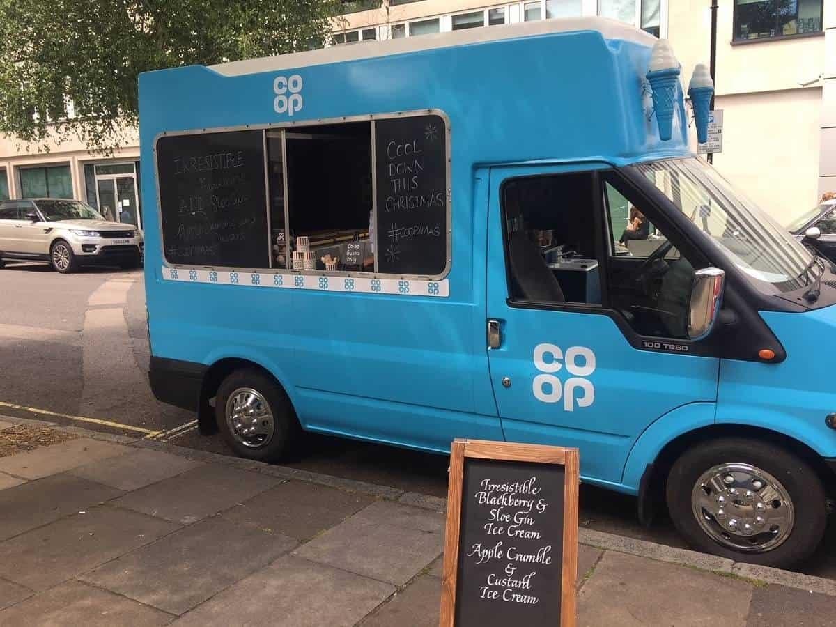 Co-op ice-cream van