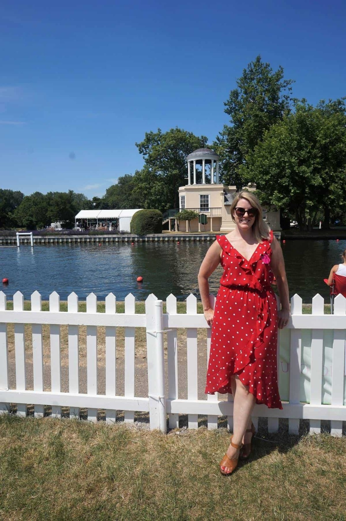 Polka Dot Oasis dress from Debenhams