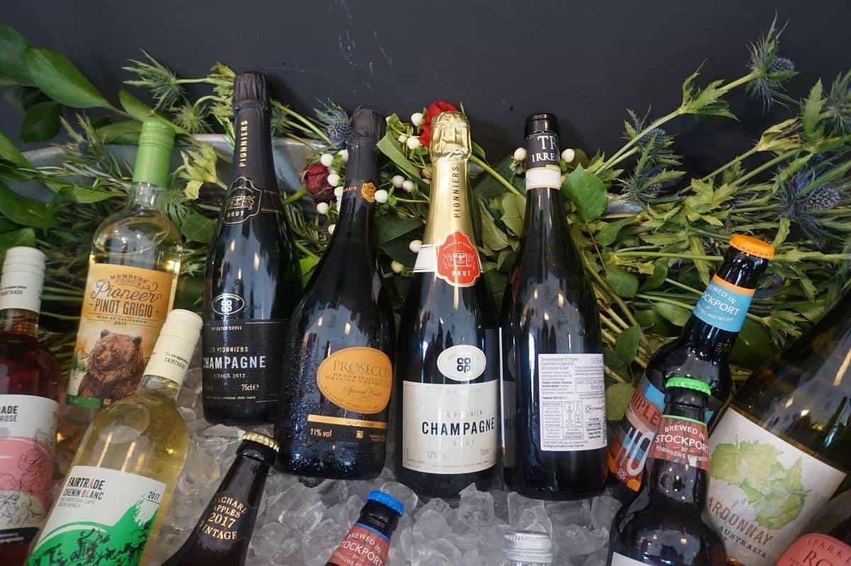 Wine to celebrate Christmas