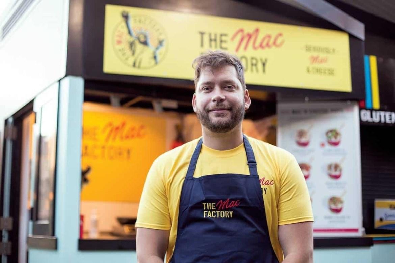 Chef Graham Bradbury of The Mac Factory