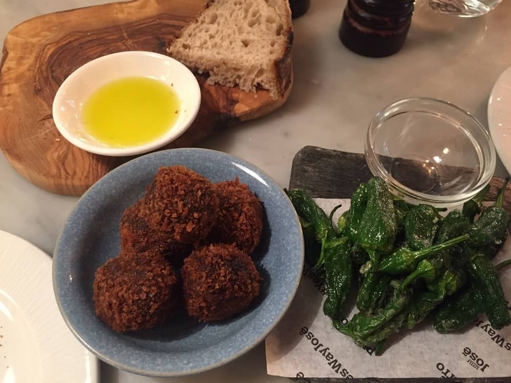 Croquettas from Jose Pizarro
