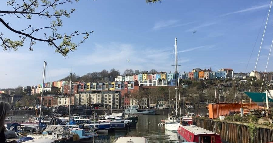 Bristol coloured houses