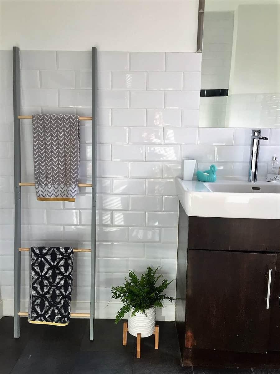 VonHaus towel ladder