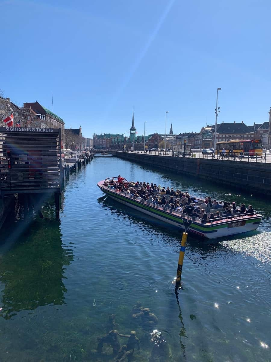 Copenhagen harbour tour