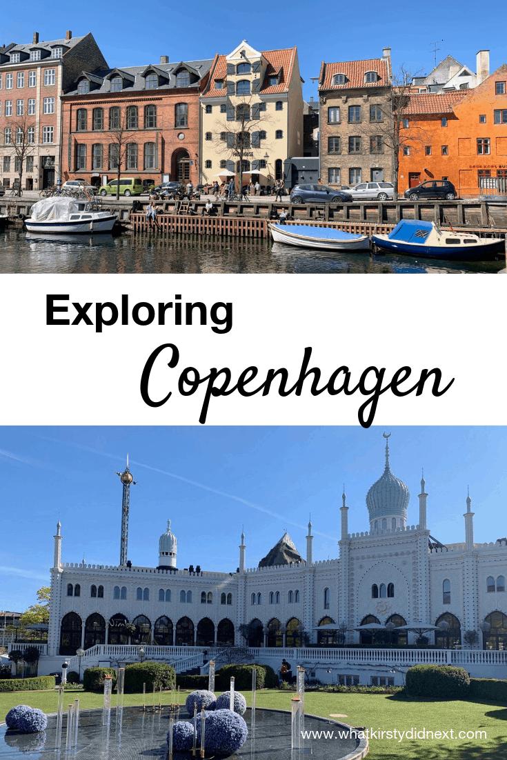 Exploring Copenhagen in Denmark