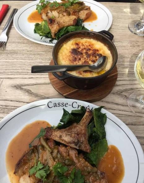 Lunch at Casse-Croûte in Bermondsey
