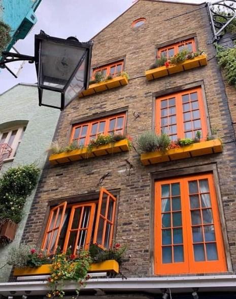Neal's Yard courtyard Covent Garden