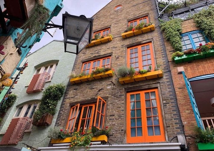 Neal's Yard courtyard Covent Garden