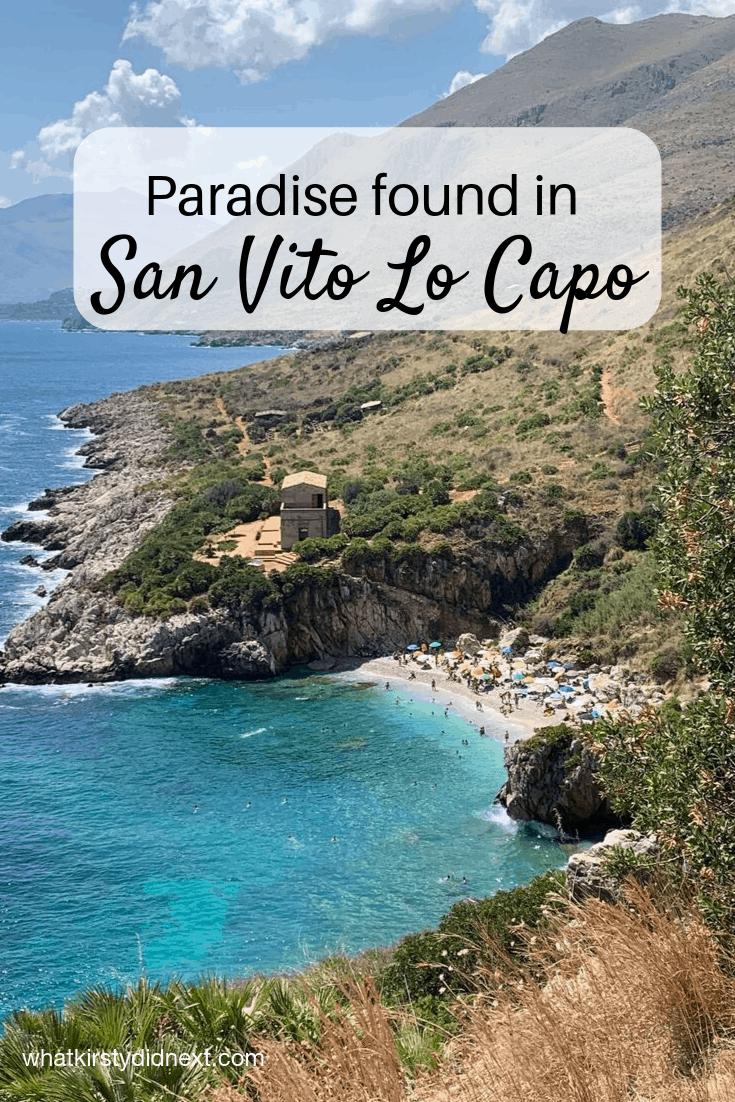 Paradise found in San Vito Lo Capo