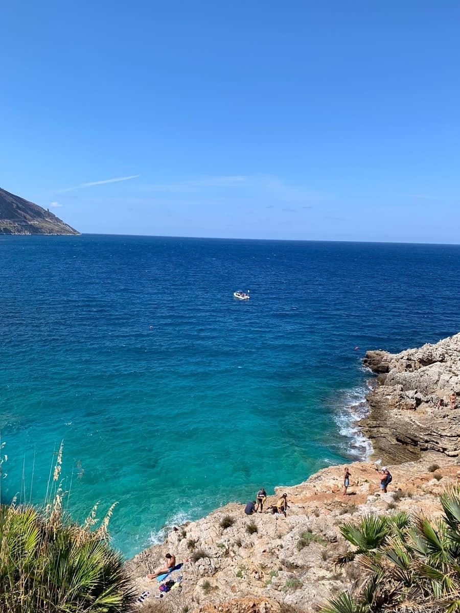 Third beach at Riserva lo Zingaro