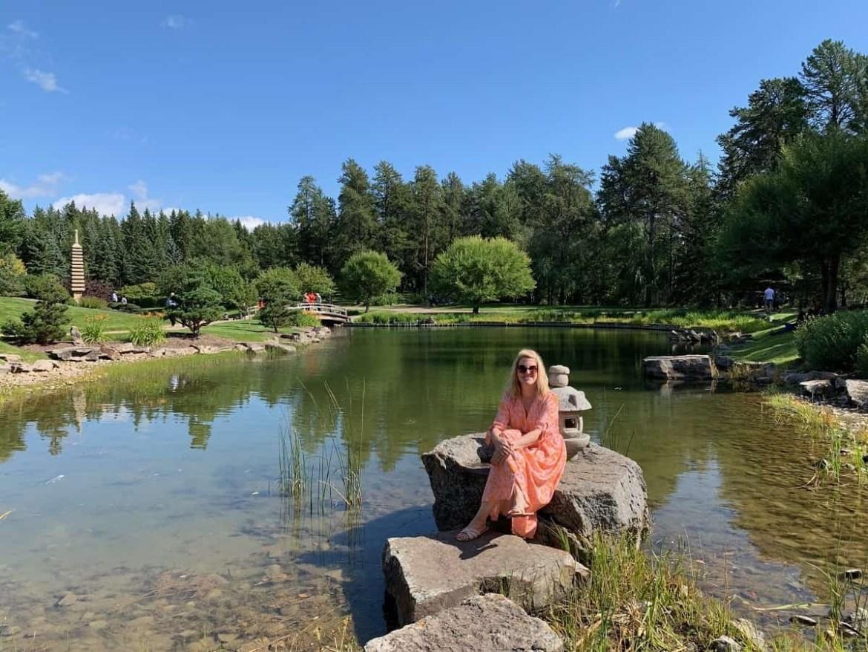 Kurimoto Japanese garden in Edmonton