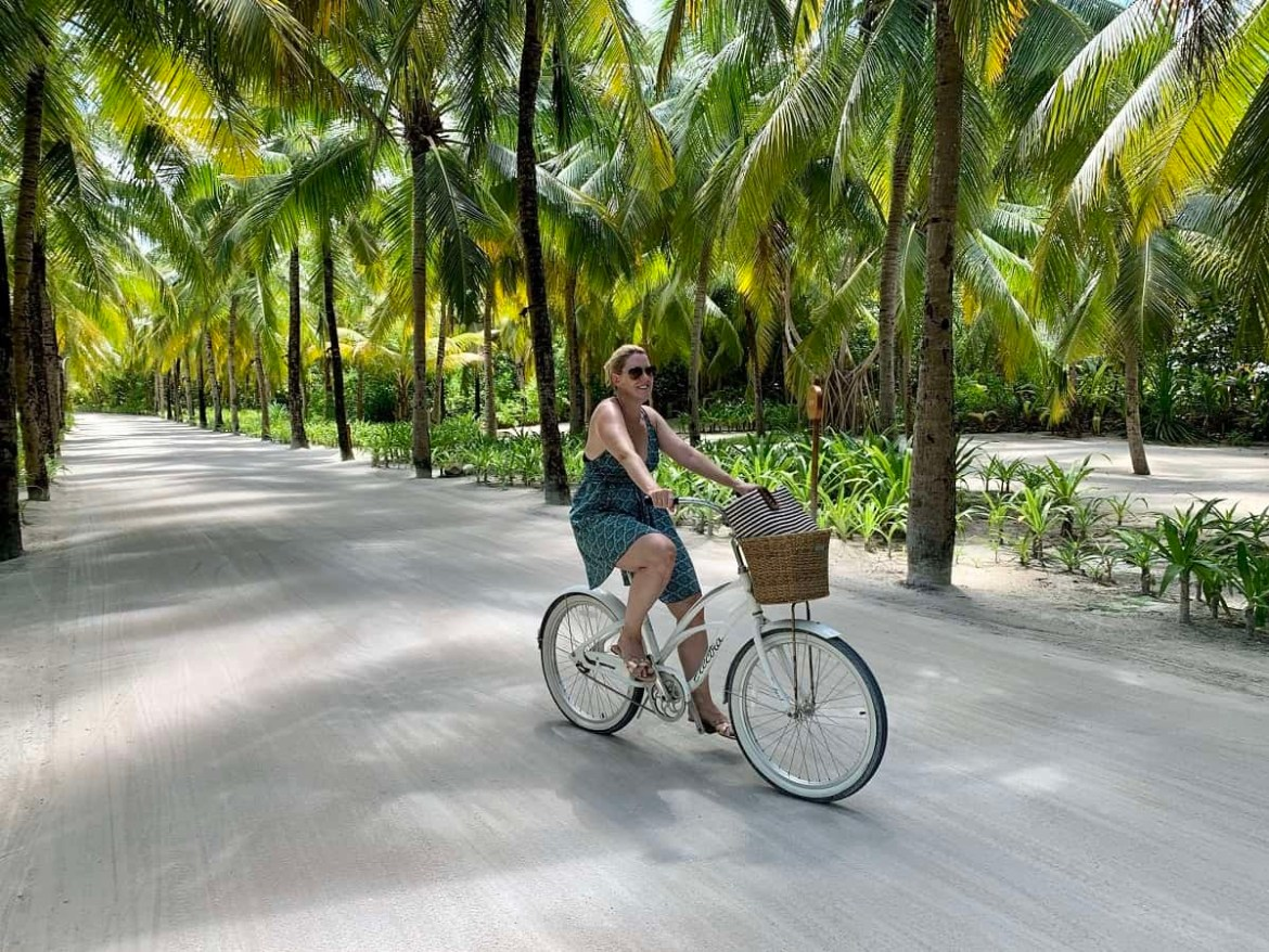 Cycling at Reethi Rah