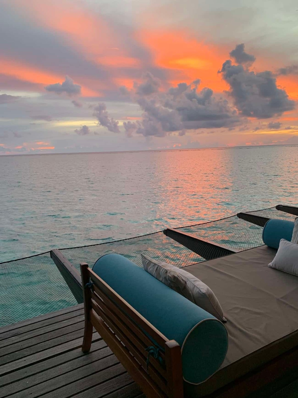 Sunset at Reethi Rah