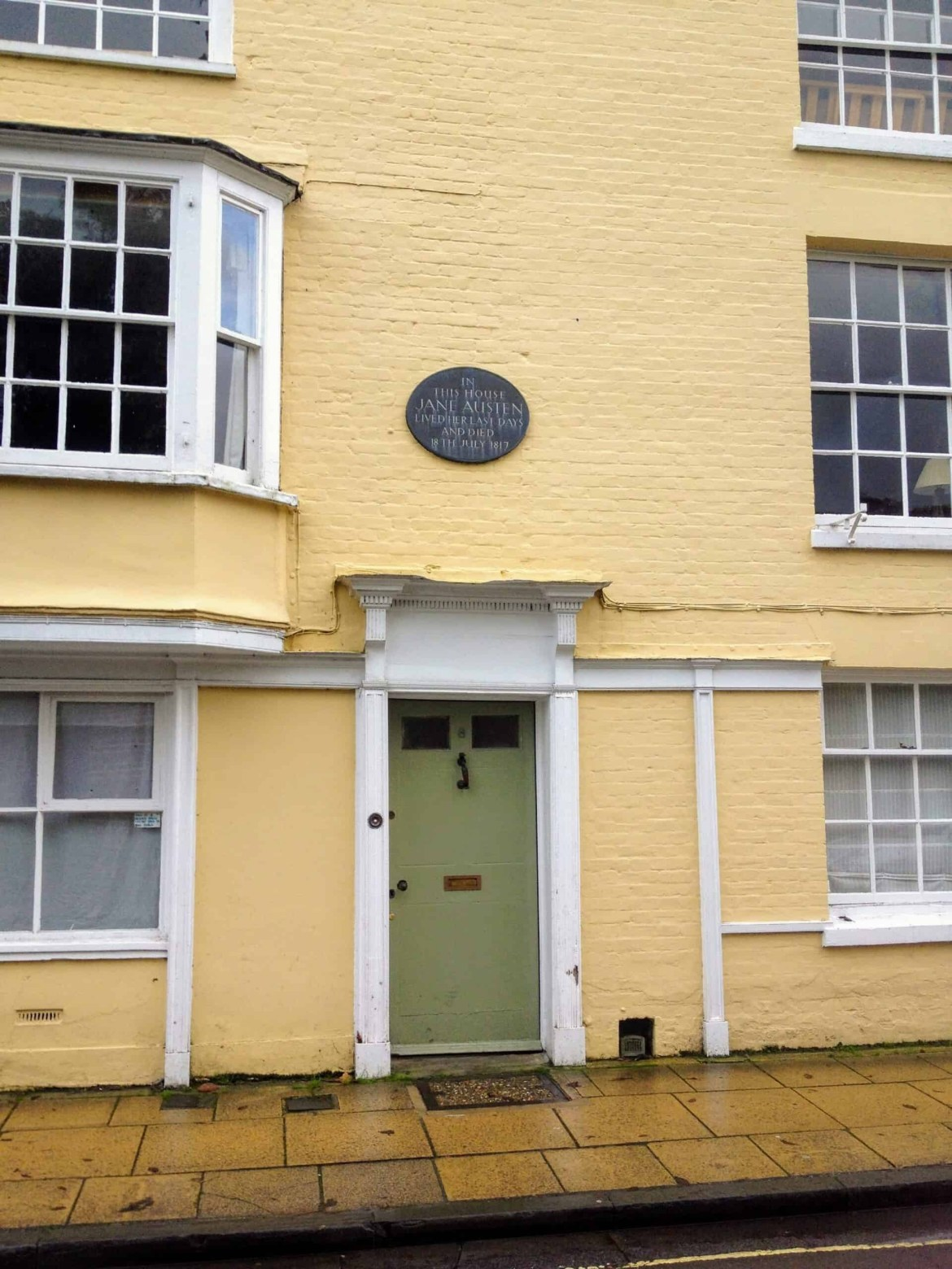 The house where Jane Austen spent her last days