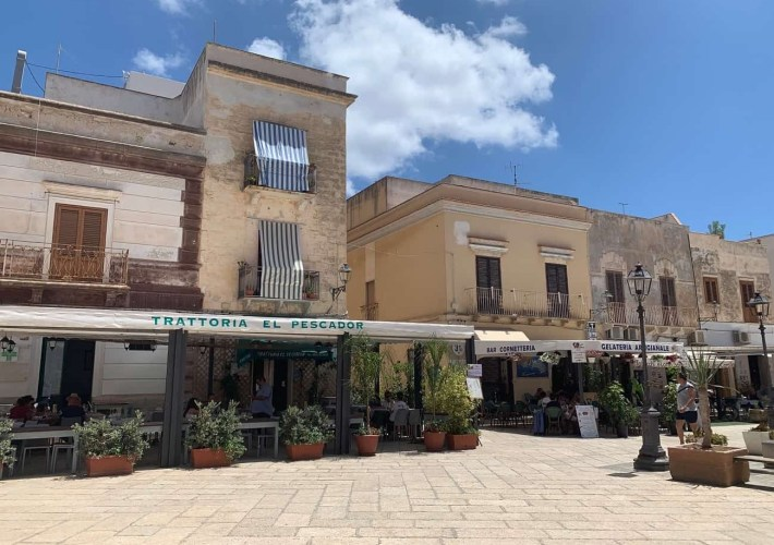 Favignana Town Centre