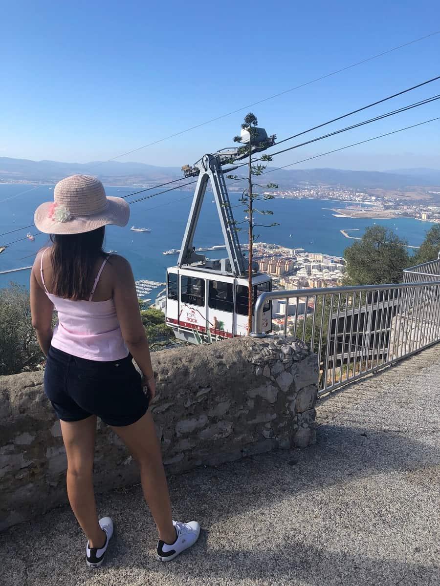 Gibraltar cable car