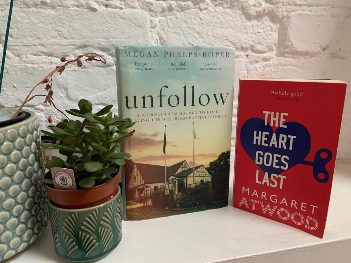 Two new books from a book swop