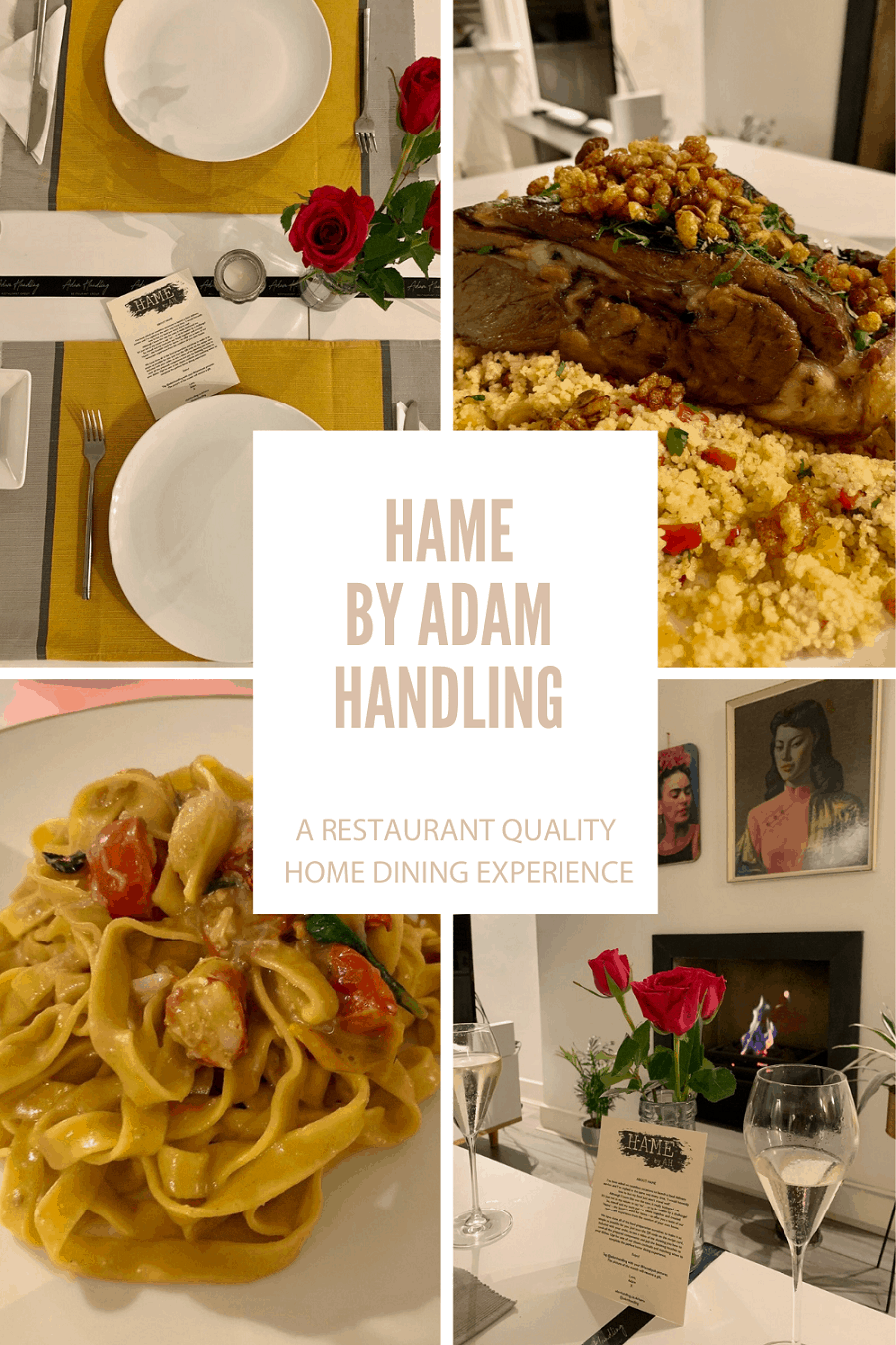 Hame by Adam Handling, a restaurant quality dining experience