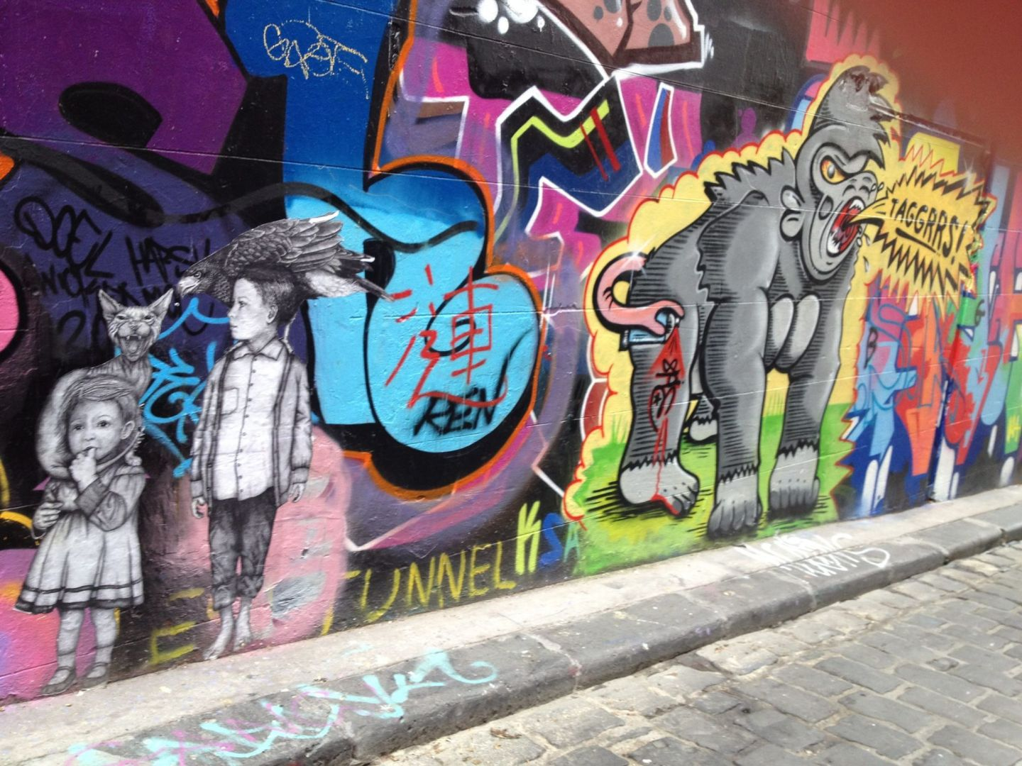 Hosier Lane and its street art