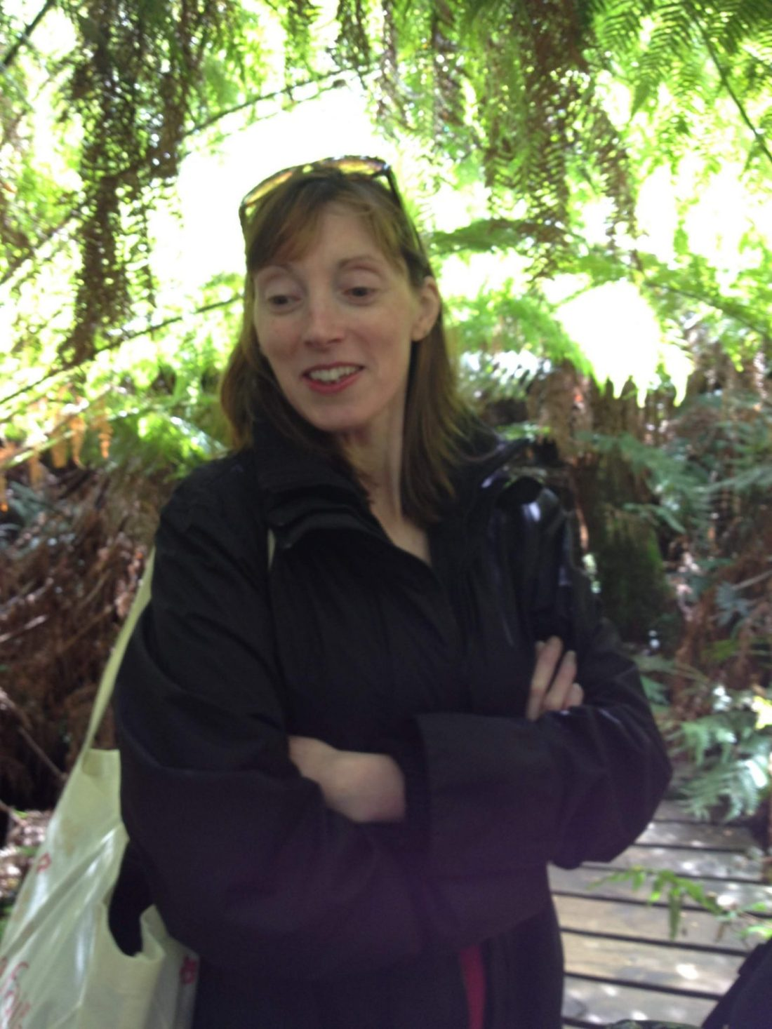 Mum in the rainforest