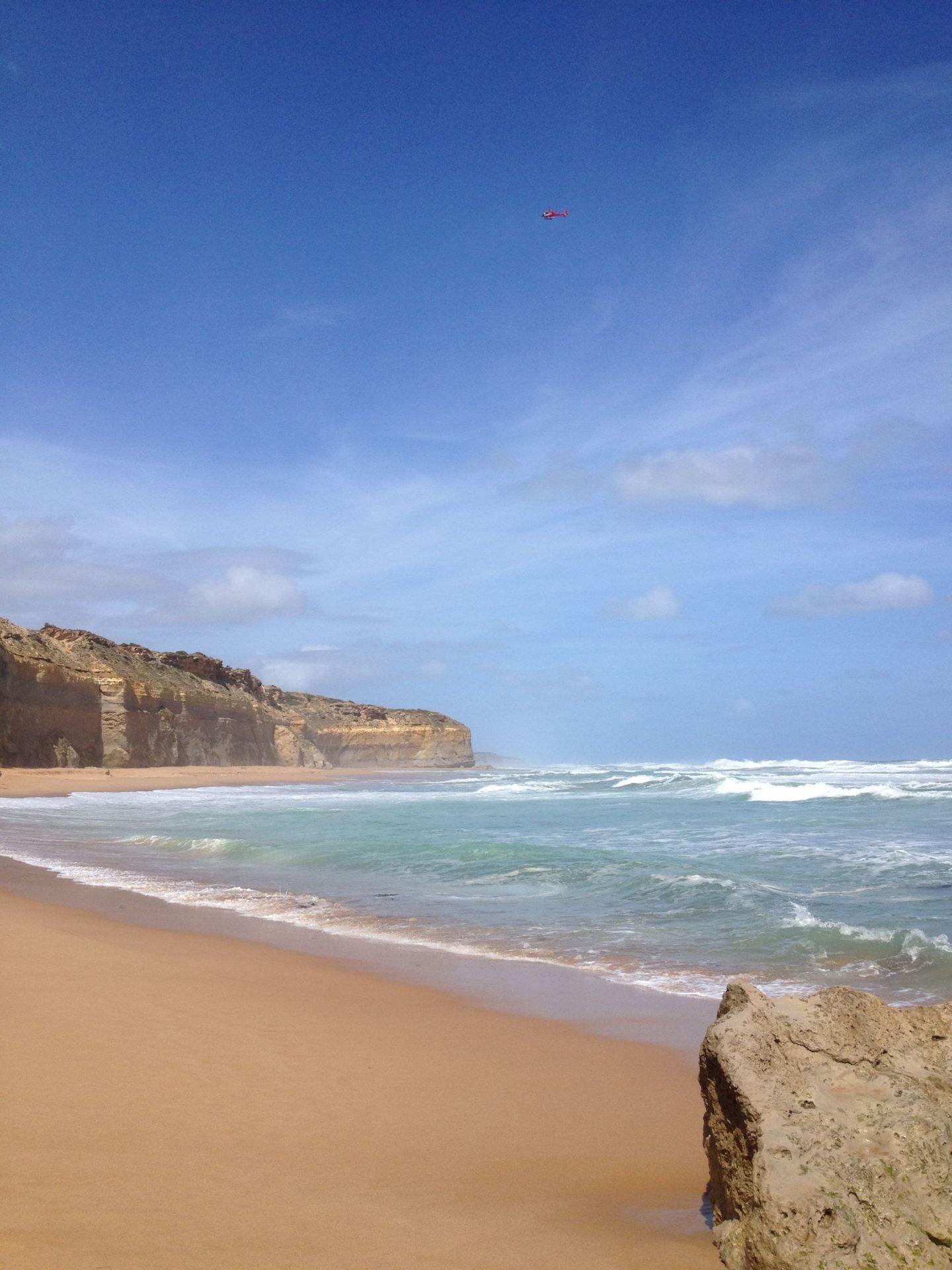 Beautiful Great Ocean Road beach