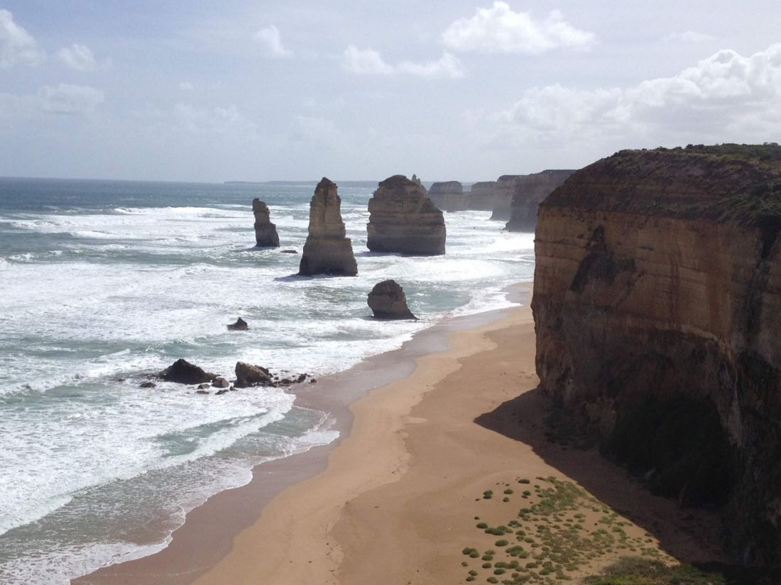 My top travel destinations: Twelve Apostles, Great Ocean Road, Melbourne