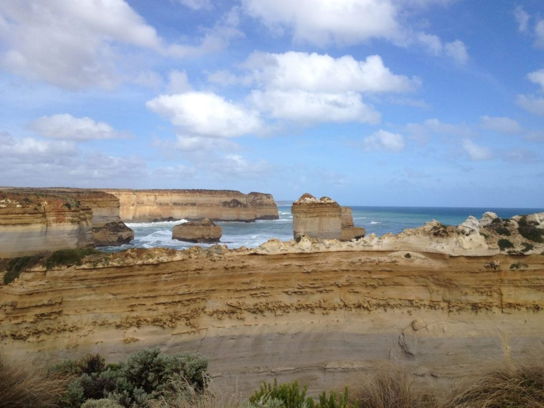 Views from the Great Ocean Road