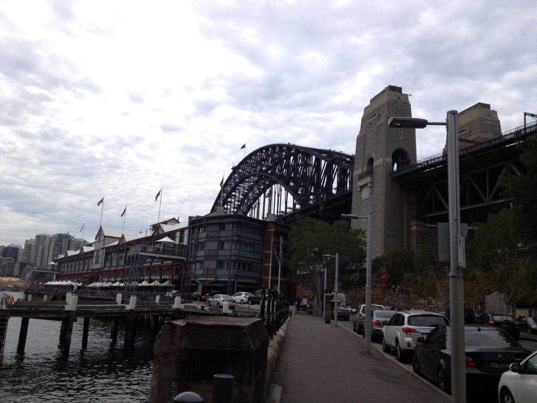 A view of Sydney Harbour Bridge