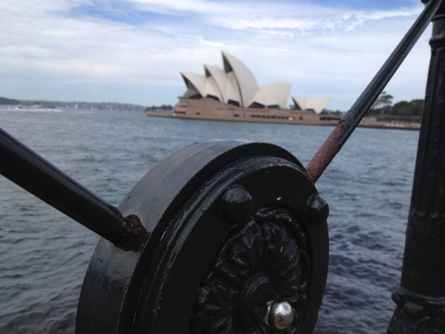 A view across to Sydney Opera House