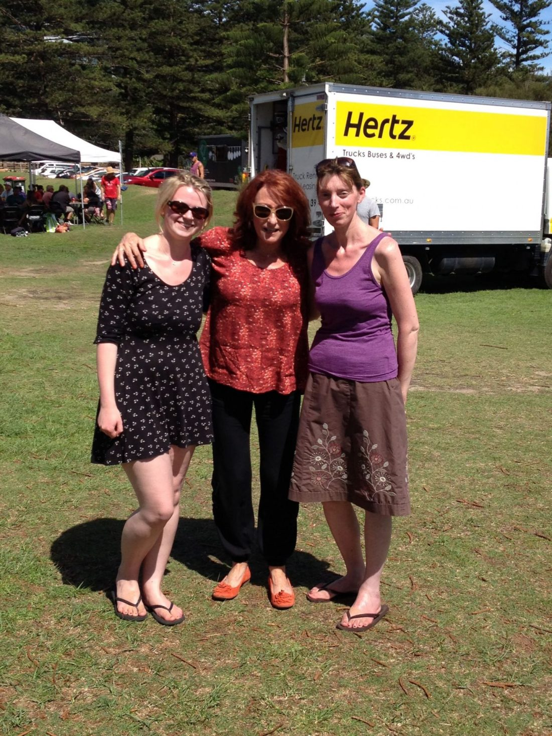 With Irene from Home and Away
