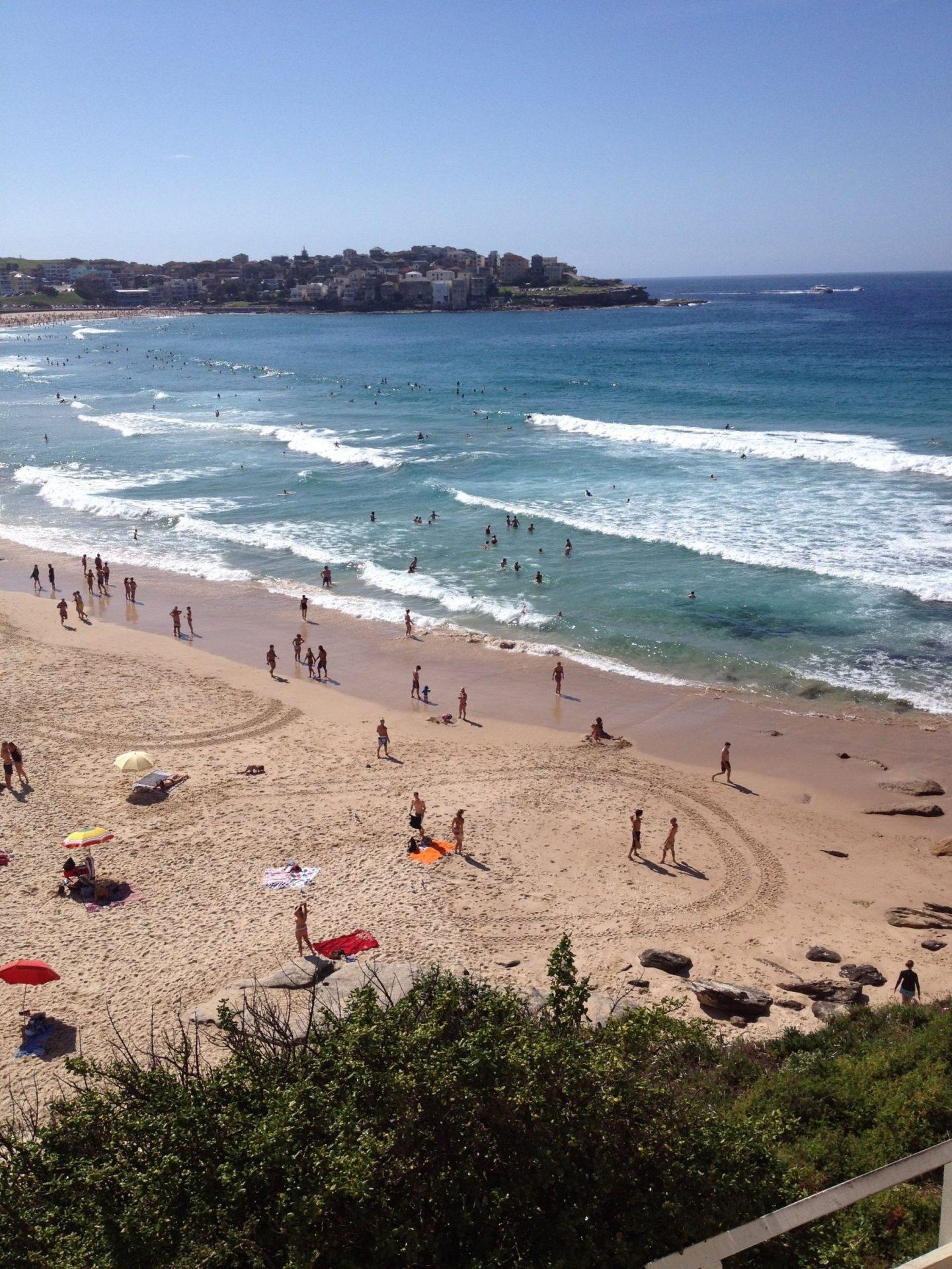 Bondi Beach, the beginning of the Bondi to Coogee Walk, Sydney