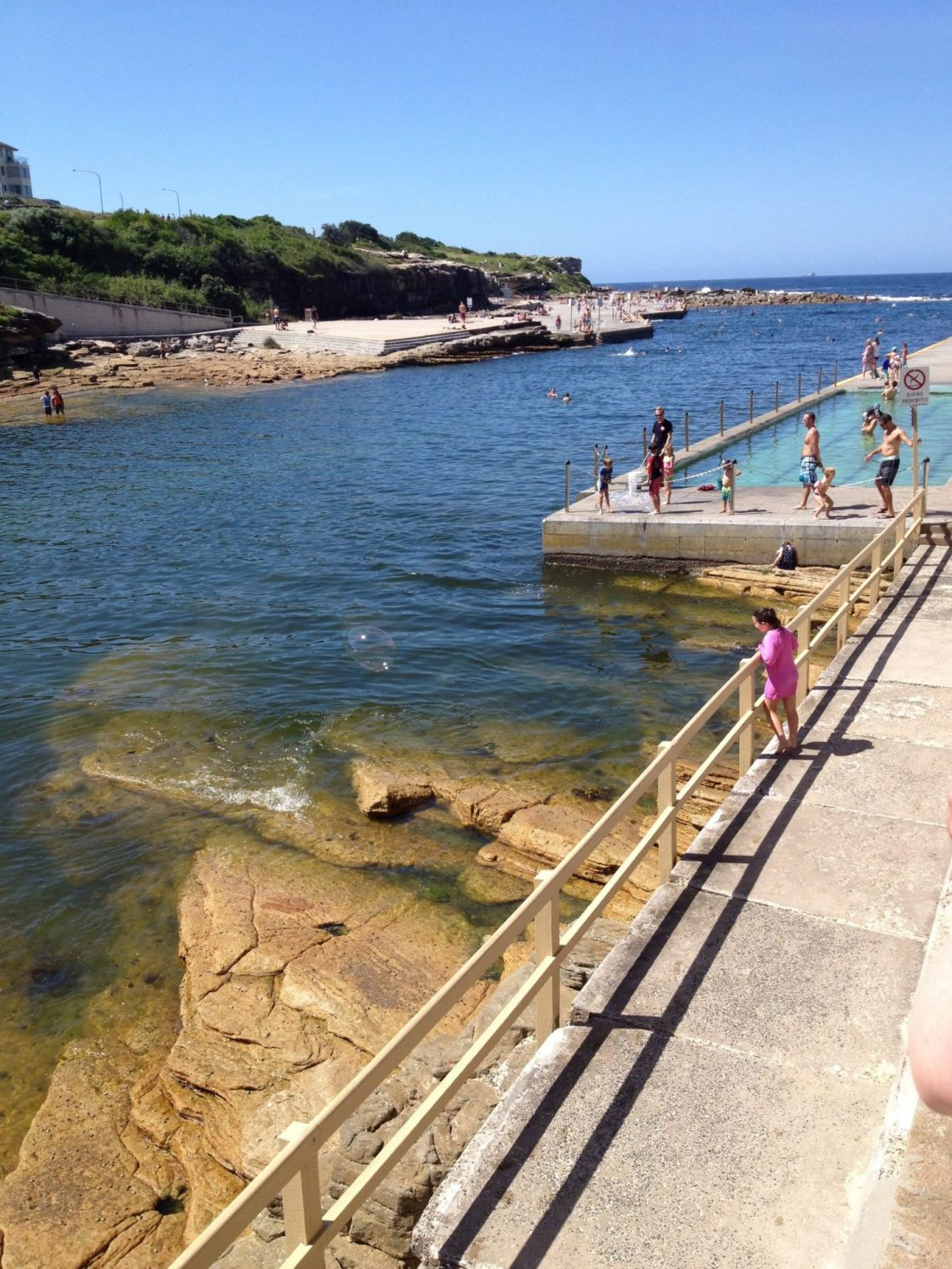 Clovelly swimming pool, Sydney