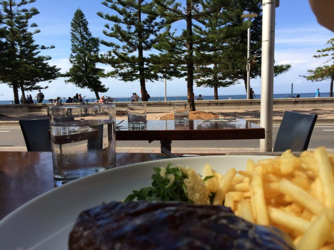 Steak from Manly Grill