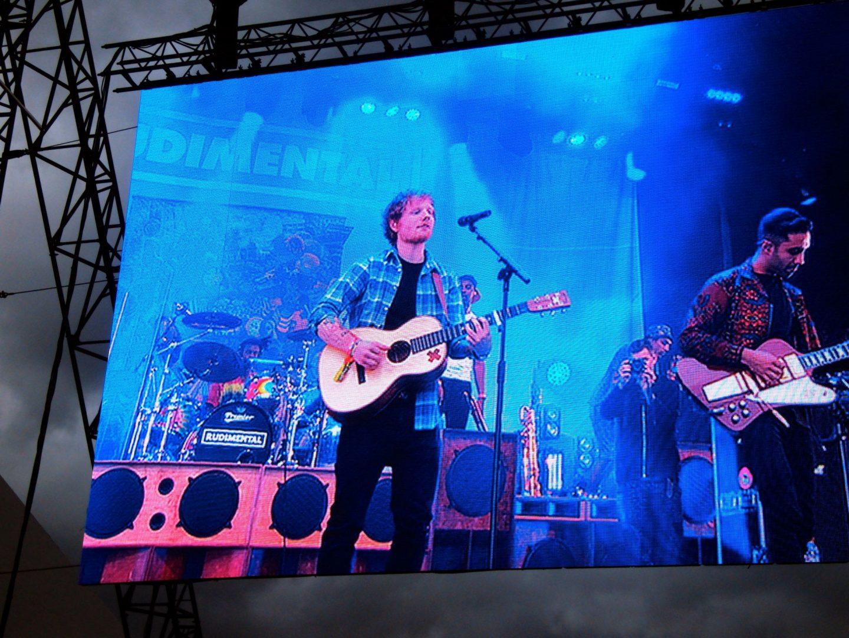 Ed Sheeran with Rudimental