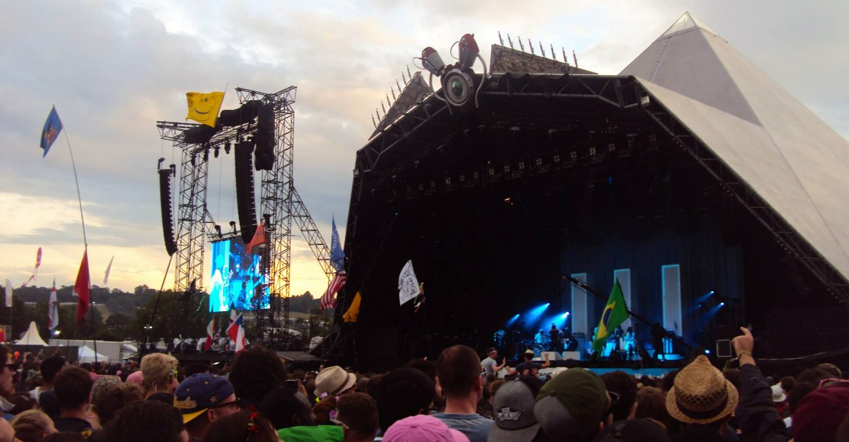 Jack White at Glastonbury Festival