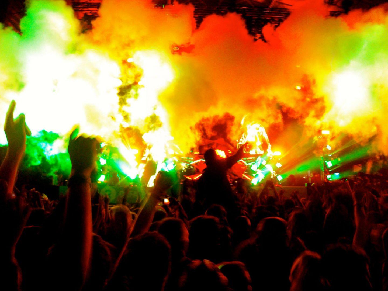Skrillex at Glastonbury