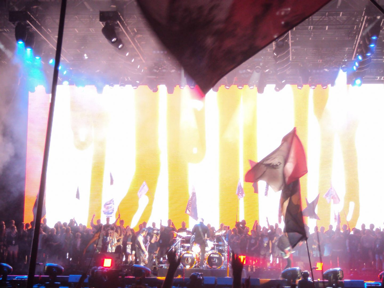 Metallica at Glastonbury Festival